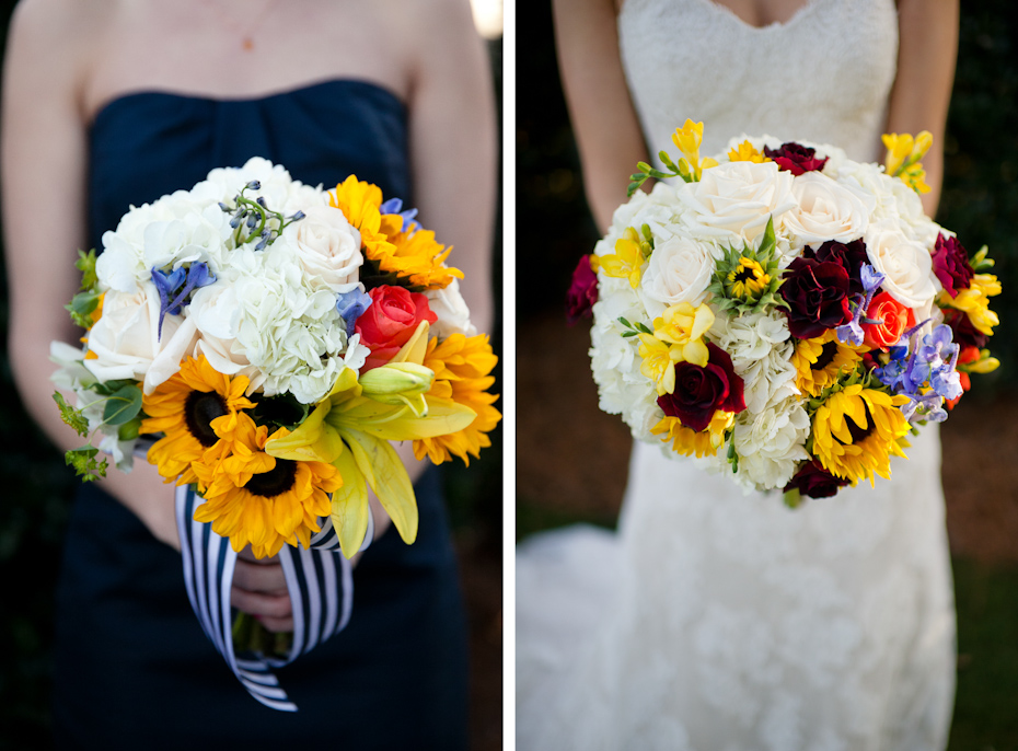 Cheerful Wedding Bouquets