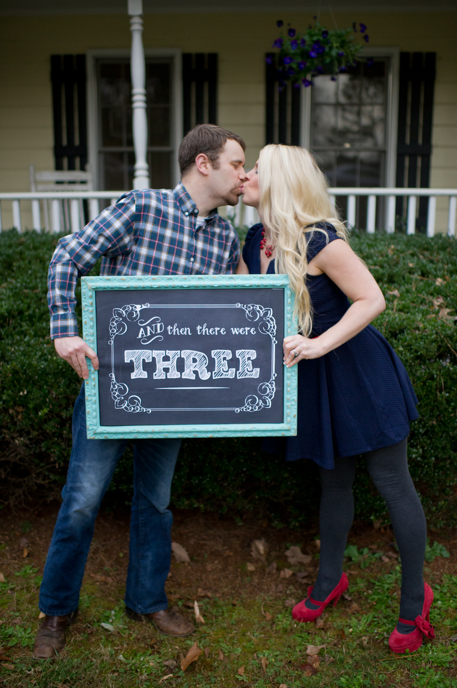 Atlanta Maternity Photographers Pregnancy Announcement
