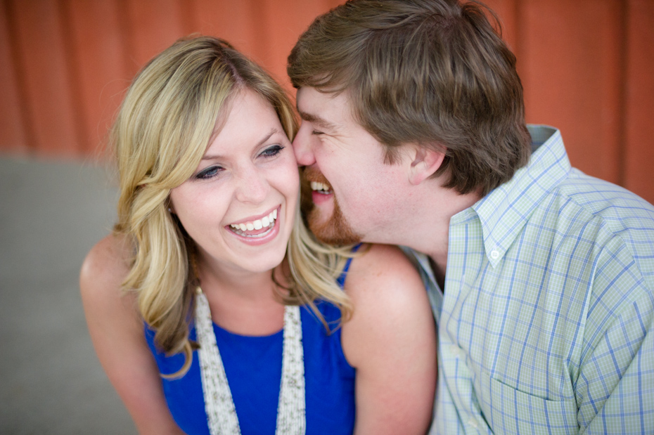 West Midtown Atlanta Engagement Photos by The Studio B Photography