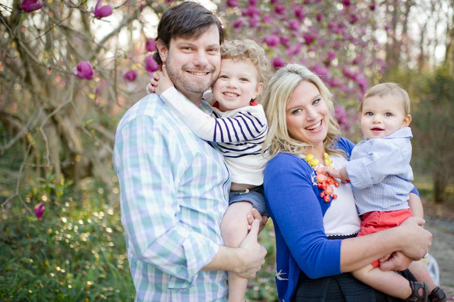 Where to take family photos in Atlanta