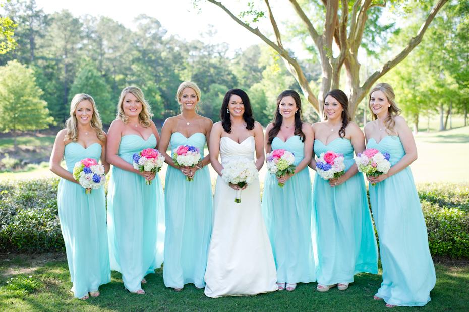 Spring Wedding Bridesmaids Dresses