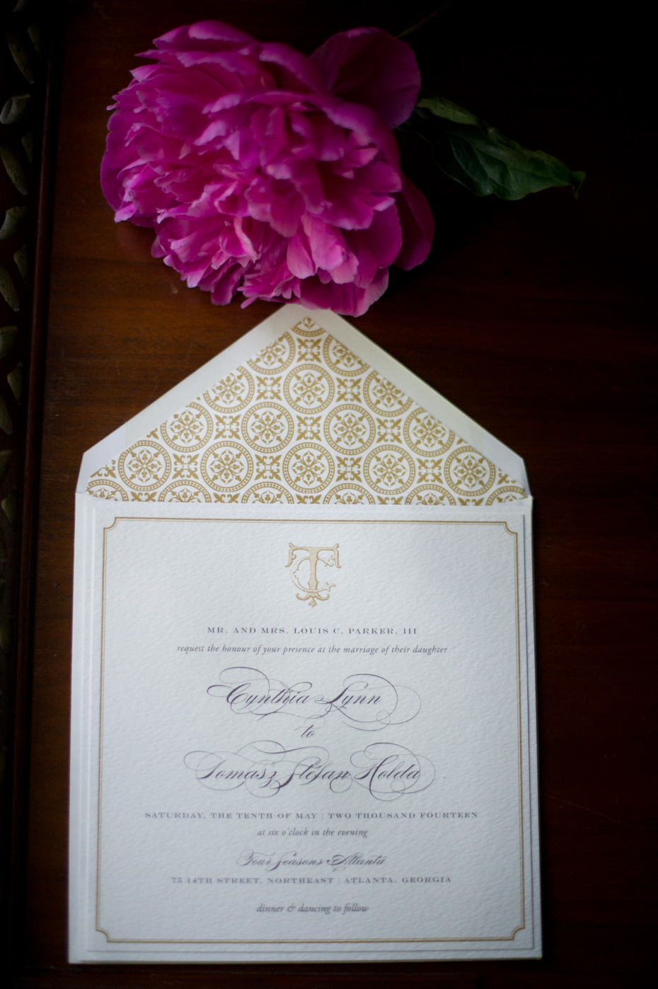 Custom Wedding Stationery Atlanta
