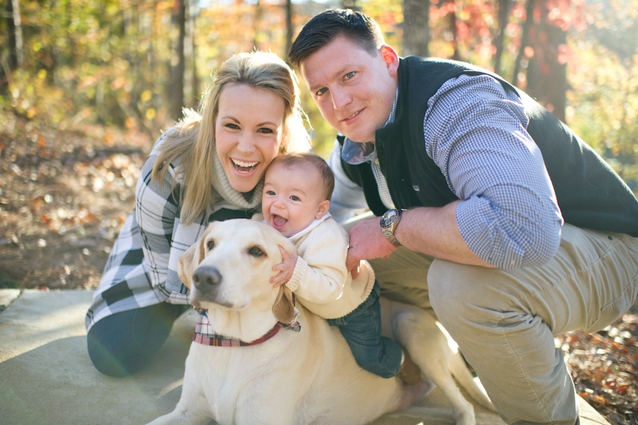 Baby and Dog Picture
