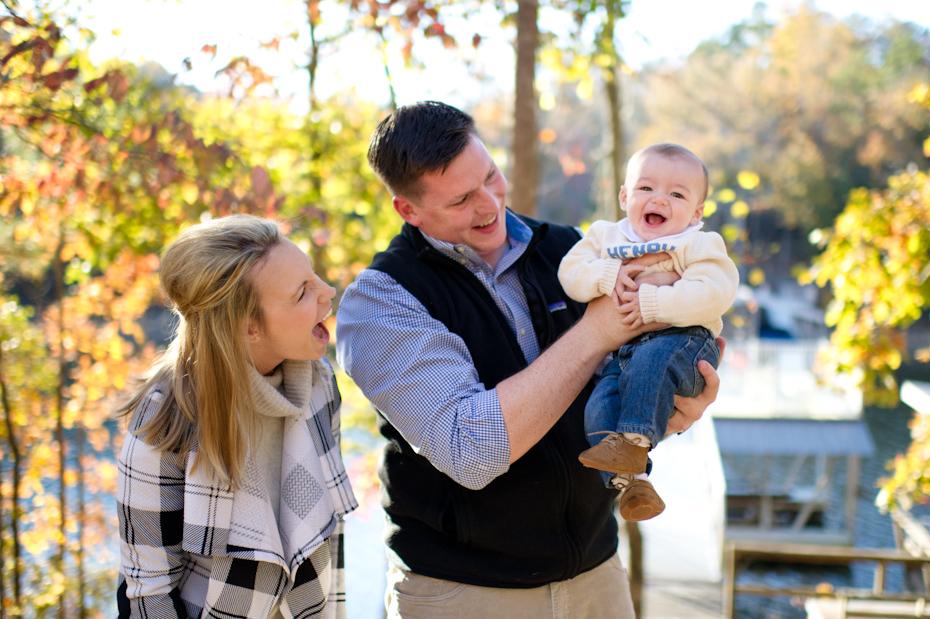 Family Photos at Lake Wedowee