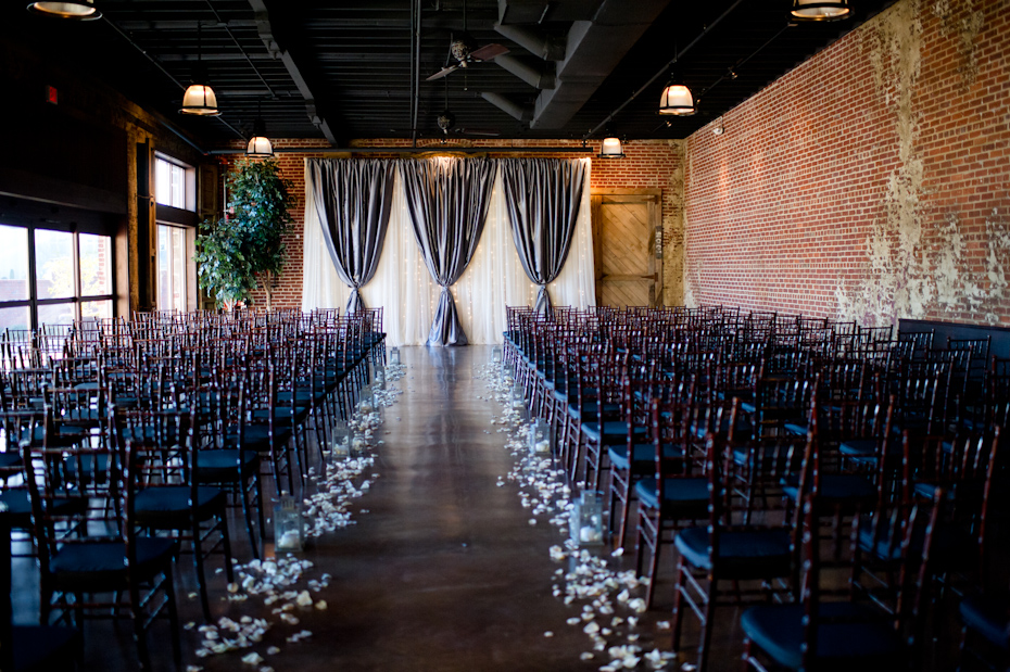 Robson Event Center Wedding Ceremony Site