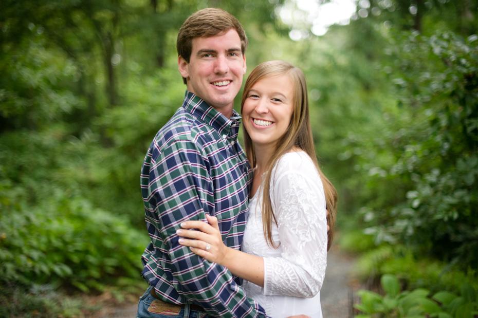 Atlanta Botanical Garden Engagement Pictures