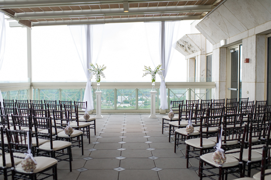 Peachtree Club Wedding Ceremony
