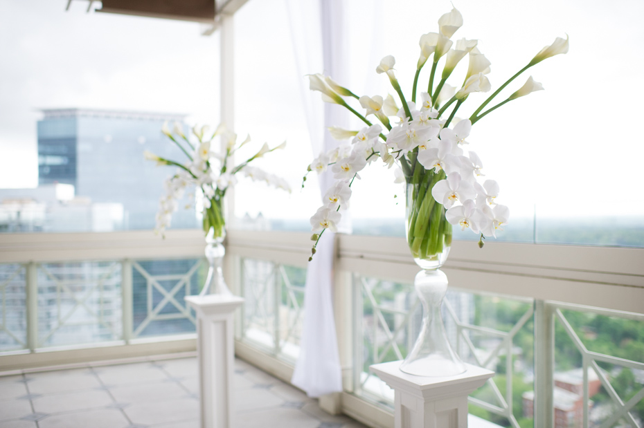 Wedding with Calla Lilies