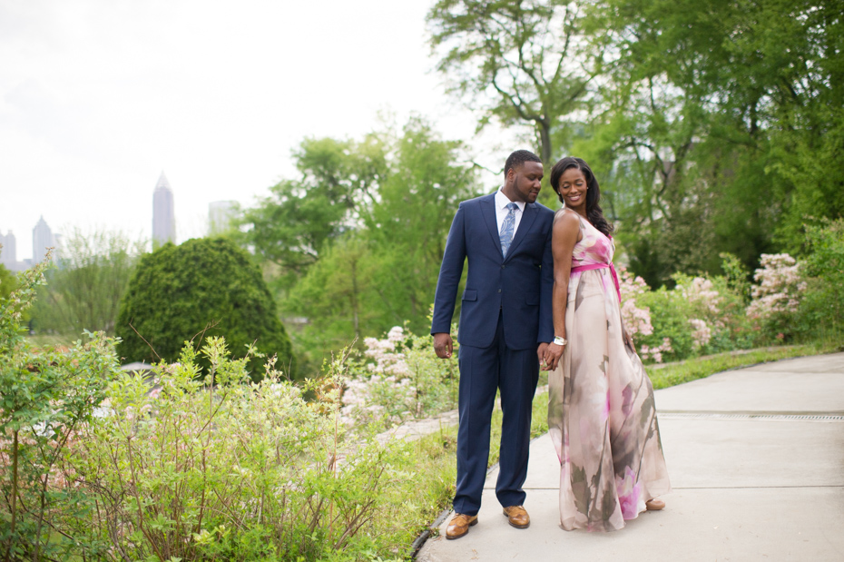 Atlanta Botanical Gardens Engagement Pictures ...