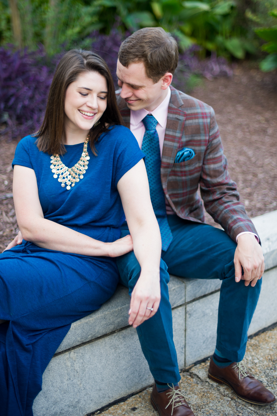 Downtown Decatur Engagement Pictures