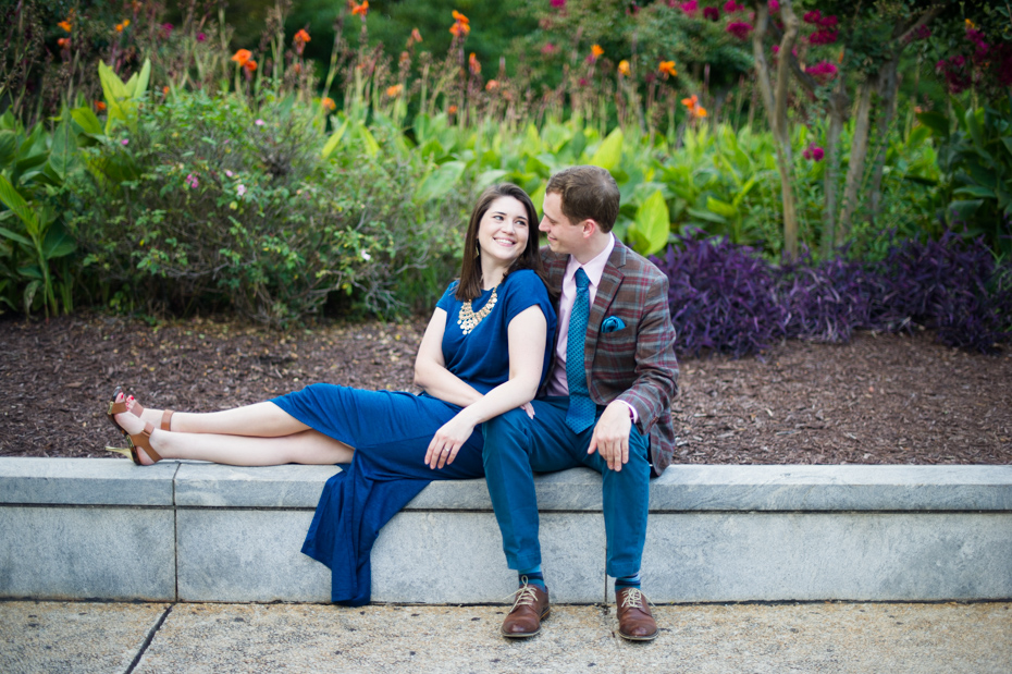 Where to take engagement photos in Atlanta
