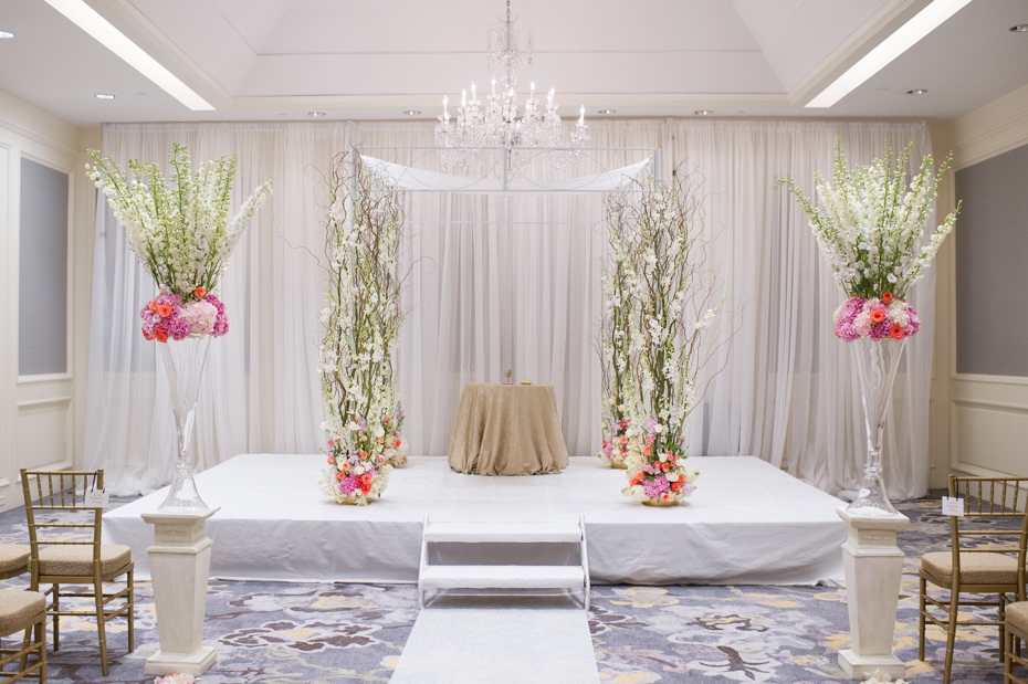 Wedding Ceremony at Ritz Carlton Buckhead