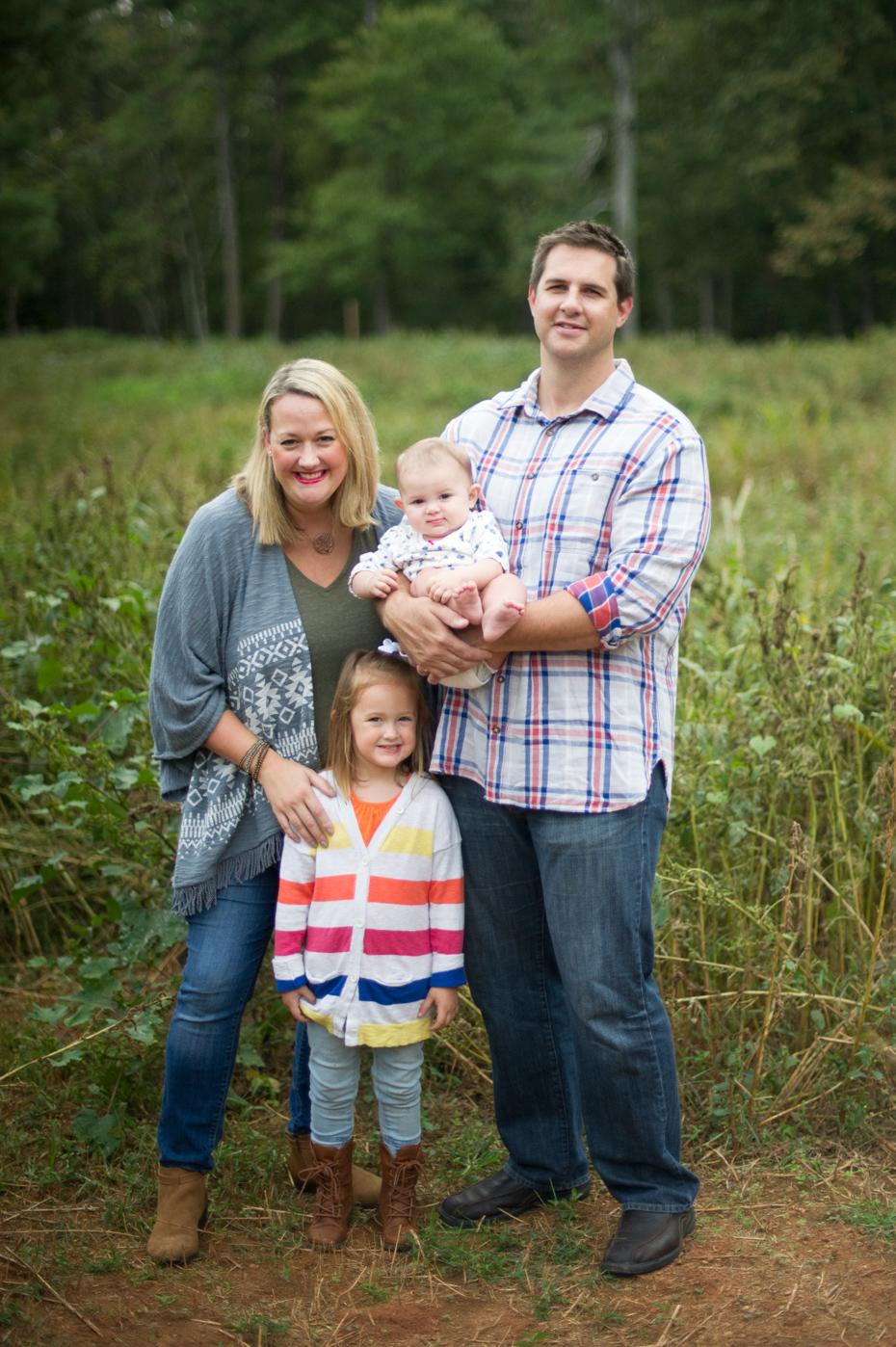 Fall Family Photos in Atlanta