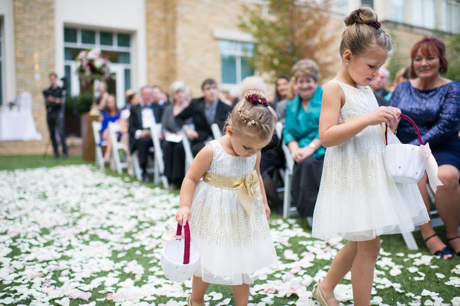 Atlanta Hyatt Perimeter Villa Christina Gardens Wedding