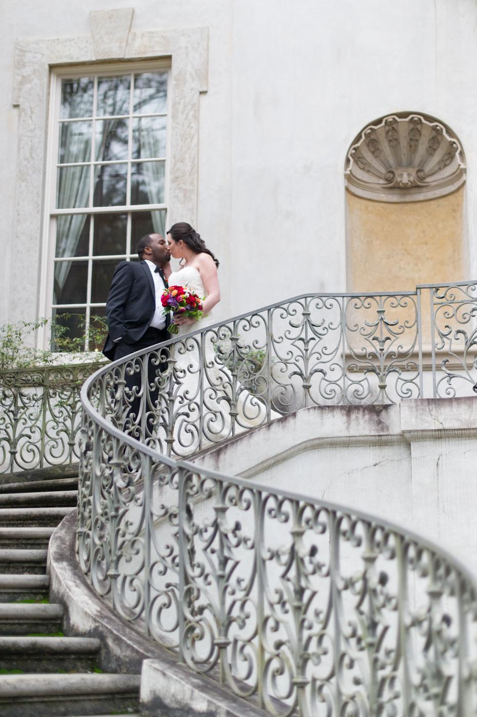 Wedding Photos at The Swan House Atlanta
