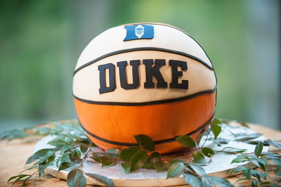 Duke Basketball Groom