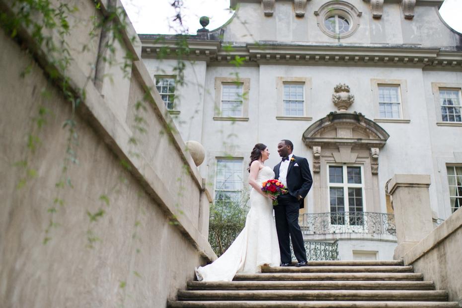 Wedding at The Swan House Atlanta