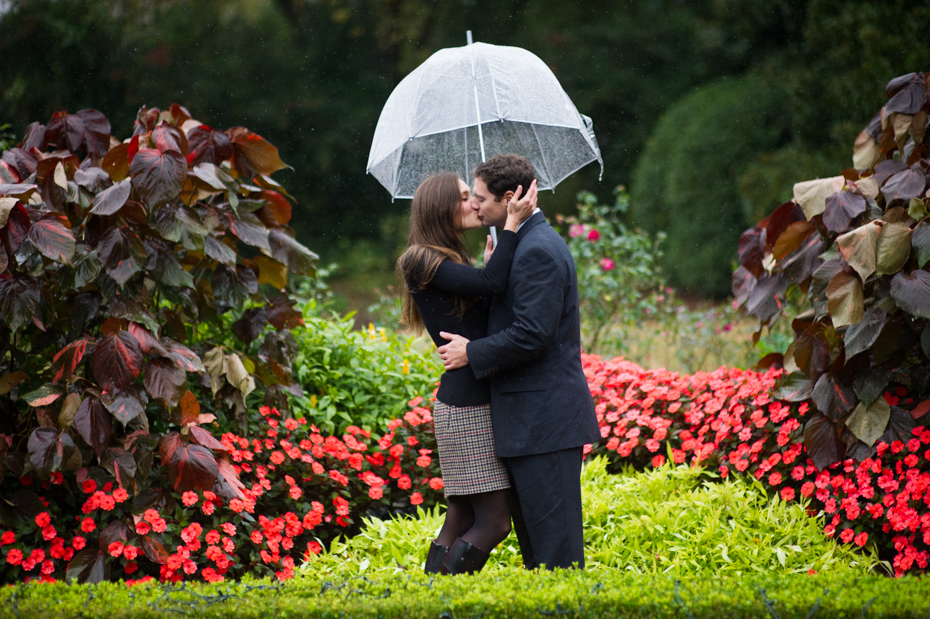 Atlanta Botanical Garden Engagement Photos