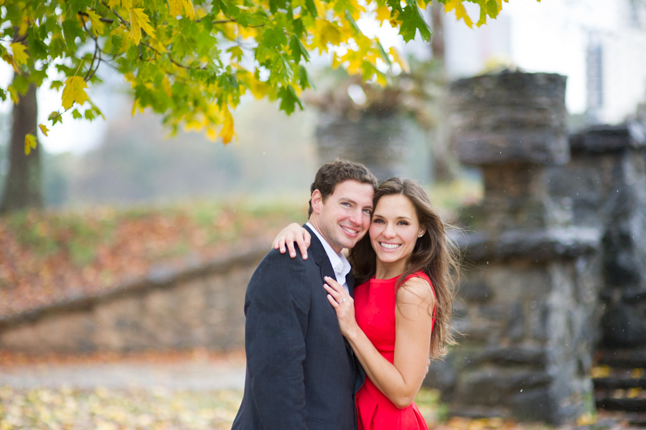 Engagement pictures at Piedmont Park