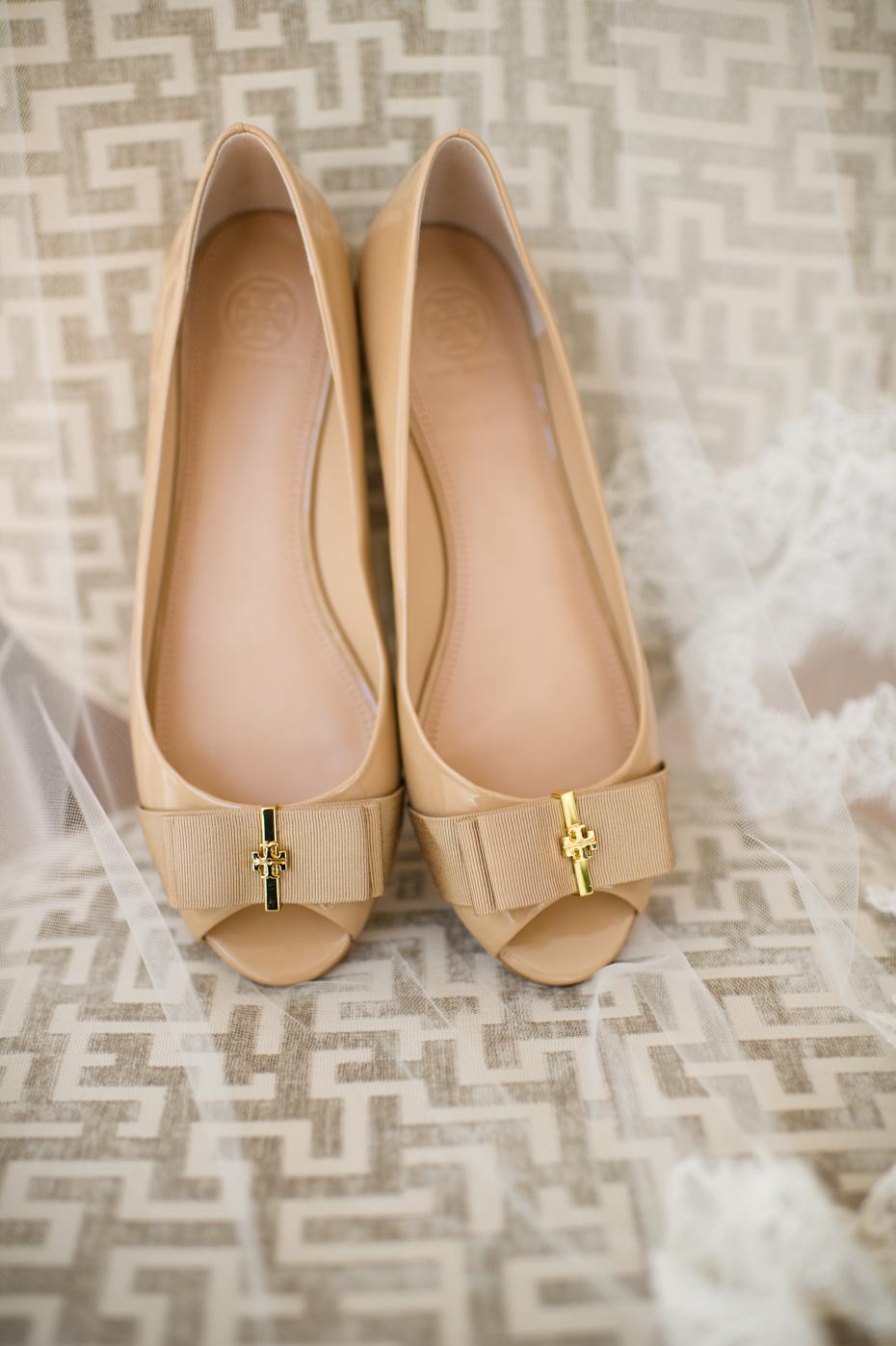 Understated Elegant Wedding Shoes