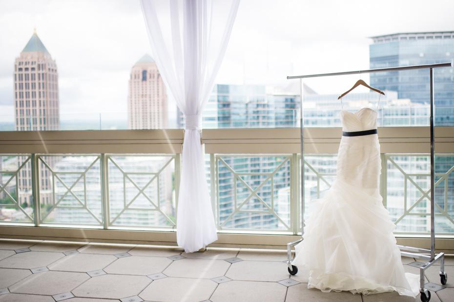 Peachtree Club Rooftop Wedding