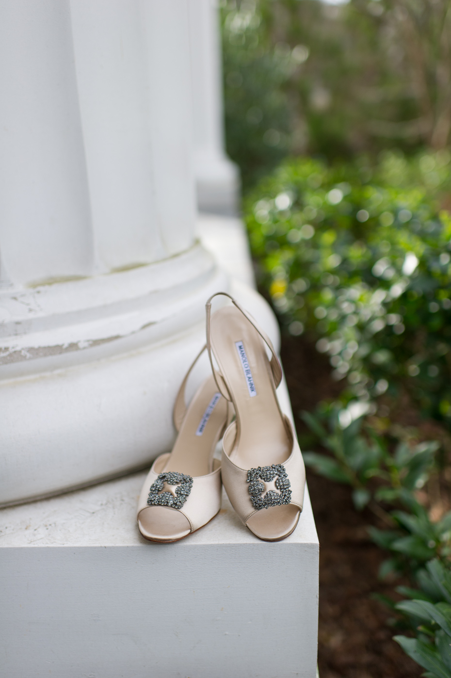 Manolo Blahnik Cassia Wedding Shoes