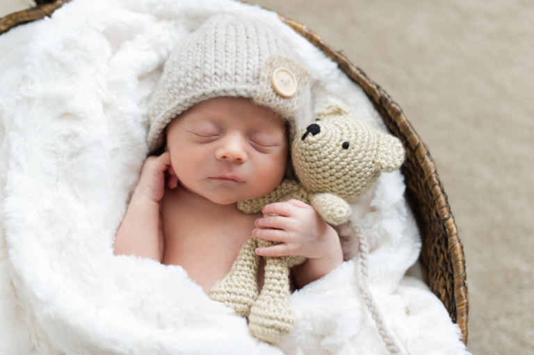 Atlanta newborn photos by the studio b photography