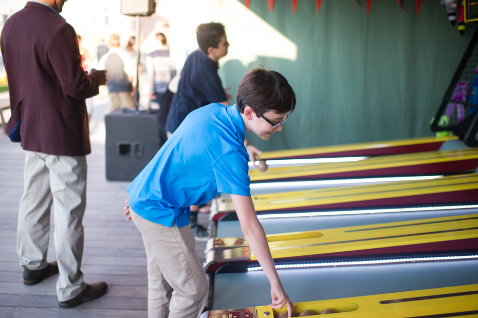 Skee Ball at The Roof Ponce City Market