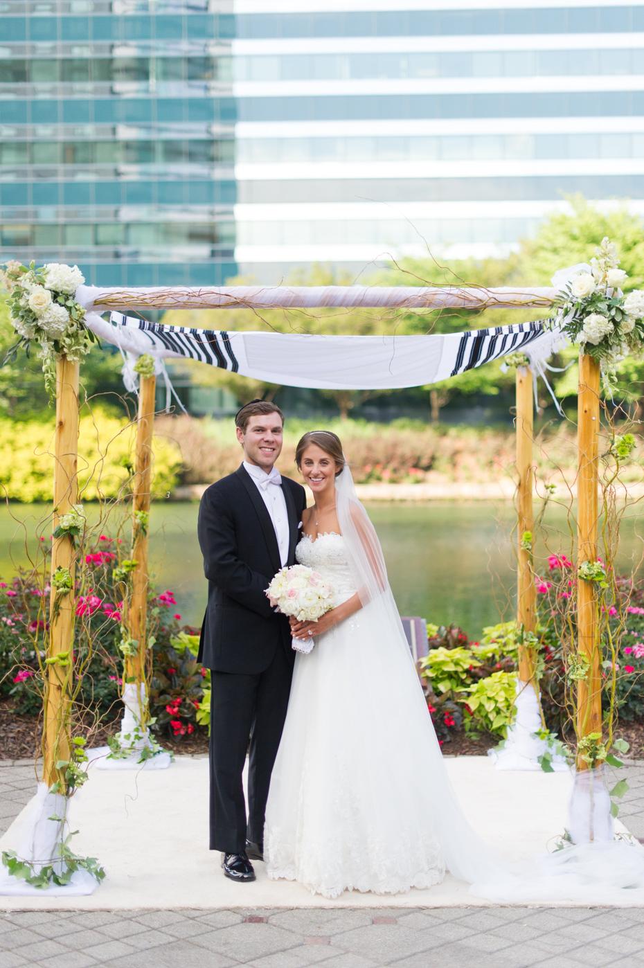 Atlanta Jewish Wedding Photos