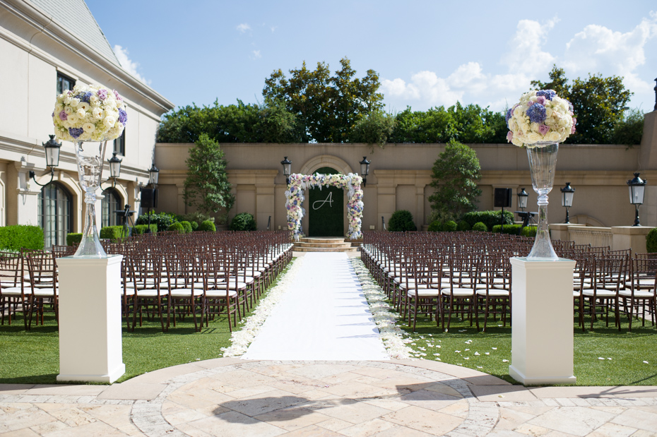 St. Regis Atlanta Outdoor Ceremony Site