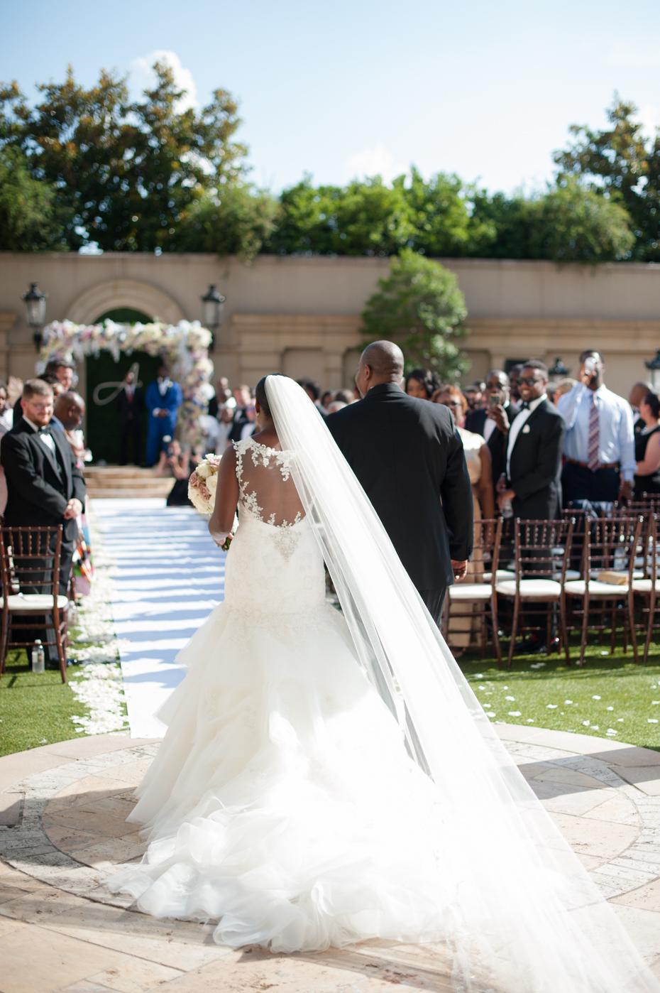 St. Regis Atlanta Outdoor Ceremony Photos