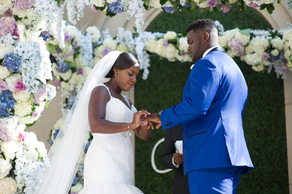 Geno Atkins wedding ceremony