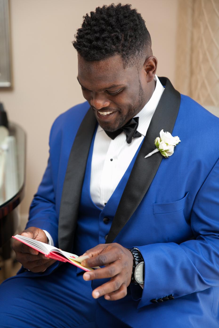 Geno Atkins Custom Wedding Tux