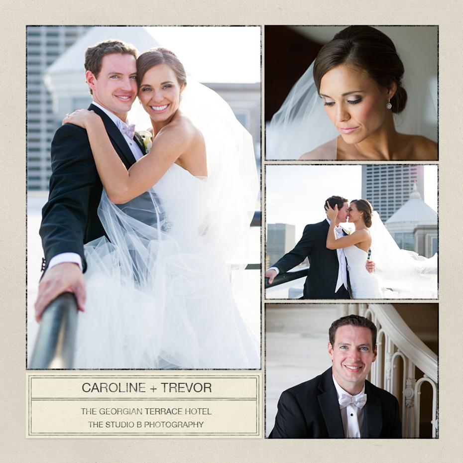 Georgian Terrace Wedding by The Studio B Photography Atlanta