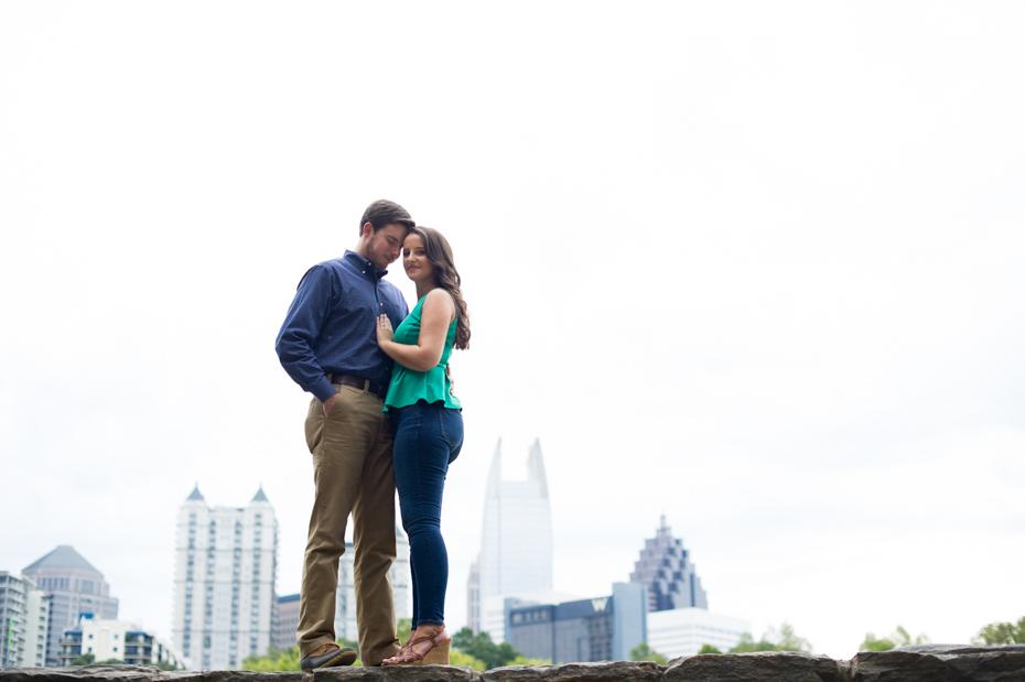 Atlanta Skyline Photo Piedmont Park