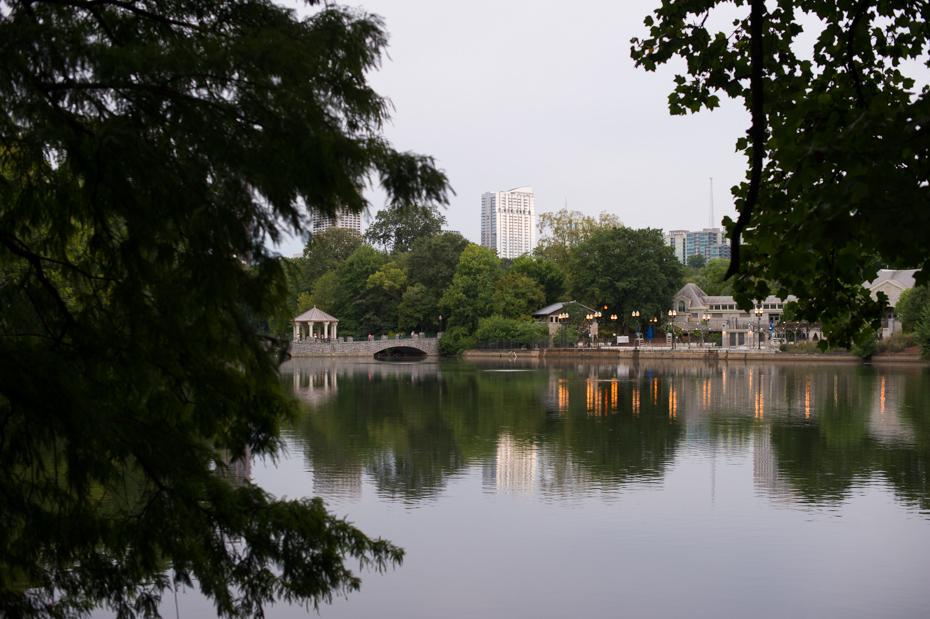 Lake at Piedmont Park