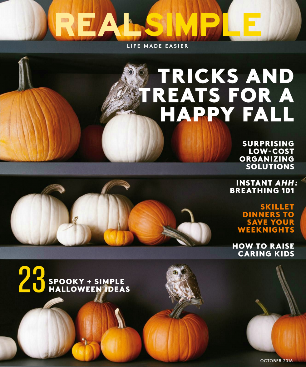 Real Simple October 2016 Issue