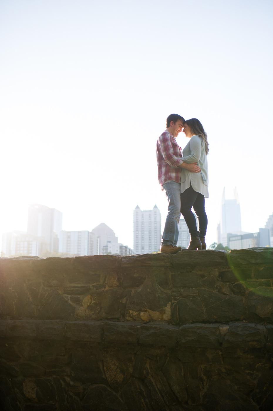 Atlanta Engagement Photographers Piedmont Park Photos