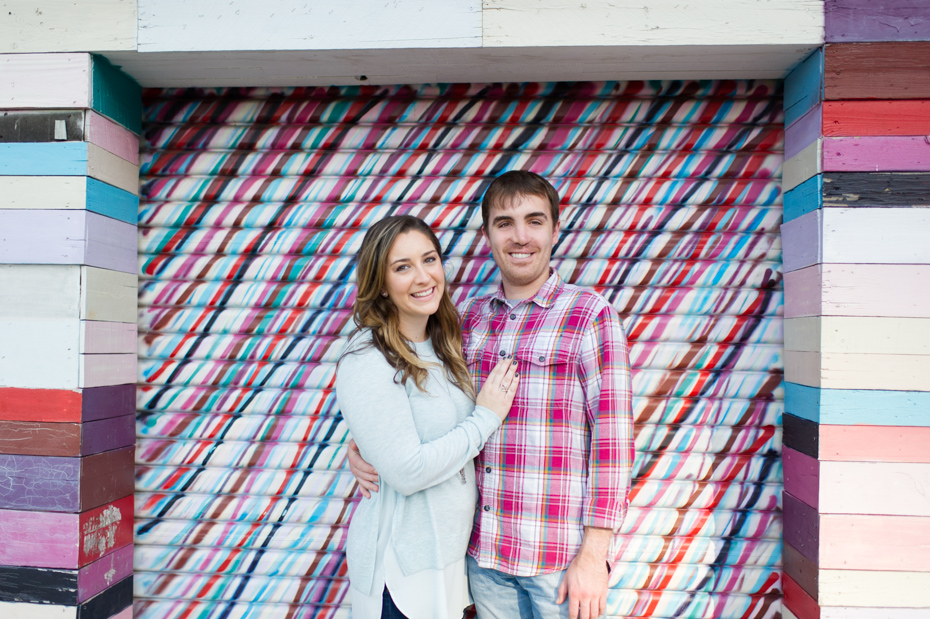 Atlanta Engagement Photos at Ponce City Market by The Studio B Photography