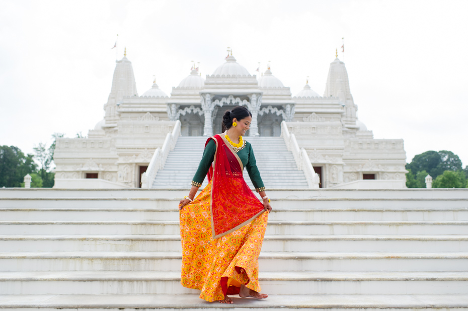 Photos of Wedding at BAPS Mandir in Atlanta by The Studio B Photography