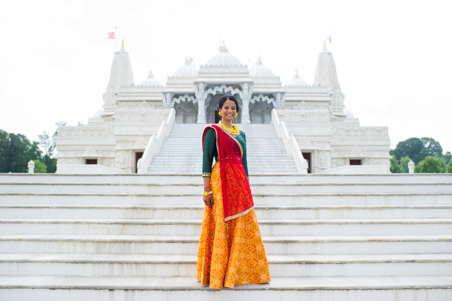 BAPS Mandir Atlanta Wedding Photos