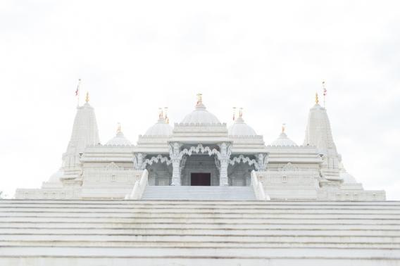 Indian Temple in Atlanta BAPS Mandir