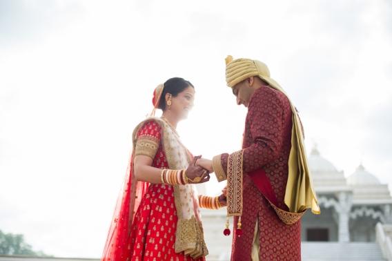 Atlanta Indian Wedding Photographers BAPS Mandir The Studio B Photography
