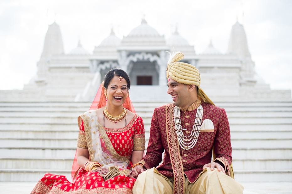 Atlanta Indian Wedding Photographers BAPS Mandir The Studio B Photography