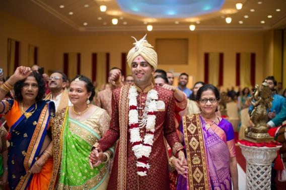 BAPS Mandir Wedding Ceremony