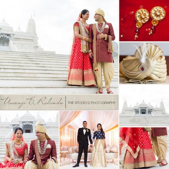 Atlanta Indian Wedding at BAPS Mandir by The Studio B Photography