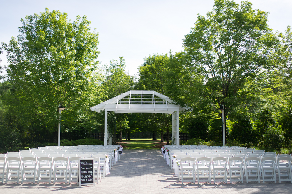 Foxhall Resort Stables Ceremony Site